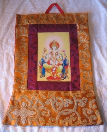 Thangka Ganesha klein
