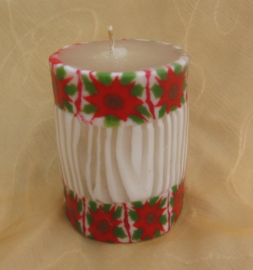 Kerstroos rand S swazi Candle