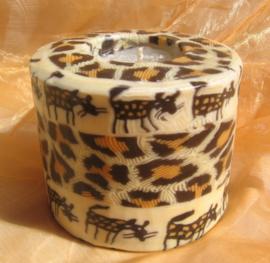 Hyena kaars Swazi Candle