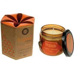 Geurkaars Orange Organic Goodness