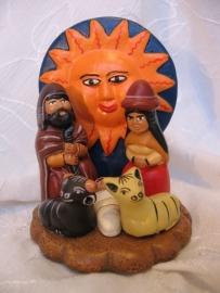 Kerststal Peru