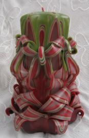 Gesneden Spaanse Kerstkaarsen