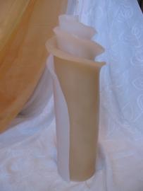 Bloemkaars 3 lagen 31 cm