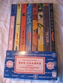Wierook kadoset Nag Champa collectie