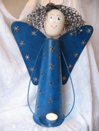 Engel sfeerlicht XL blauw