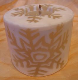 IJskristal wit Swazi Candle