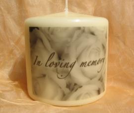 """Gedenkkaars """"In Loving Memory"""""""