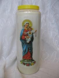 Noveenkaars Maria met Jezus 9 dagen brander
