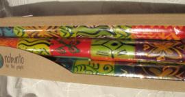 Handbeschilderde kaarsen Nobunto Kleurig
