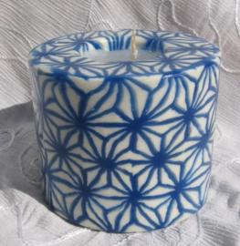 Blauwe Sterren Swazi Candle