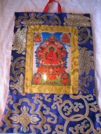 Thangka Amithaba Boedda klein