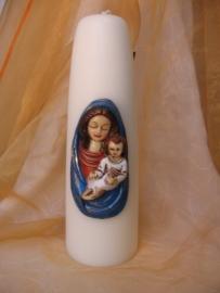 Dompelkaars Maria met kind