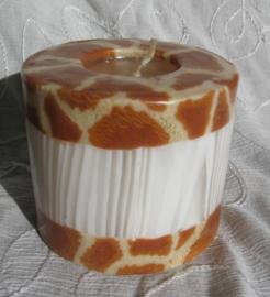 Giraffekaars rand Swazi Candle