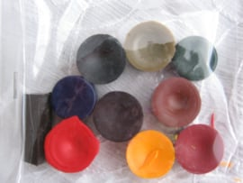 Kaarsen kleurstof 10 stuks