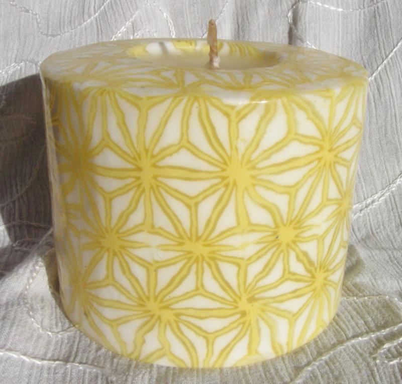 Sterren geel Swazi Candle