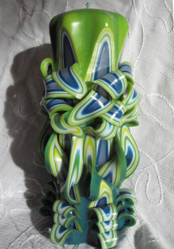 Spaanse kaars groen L