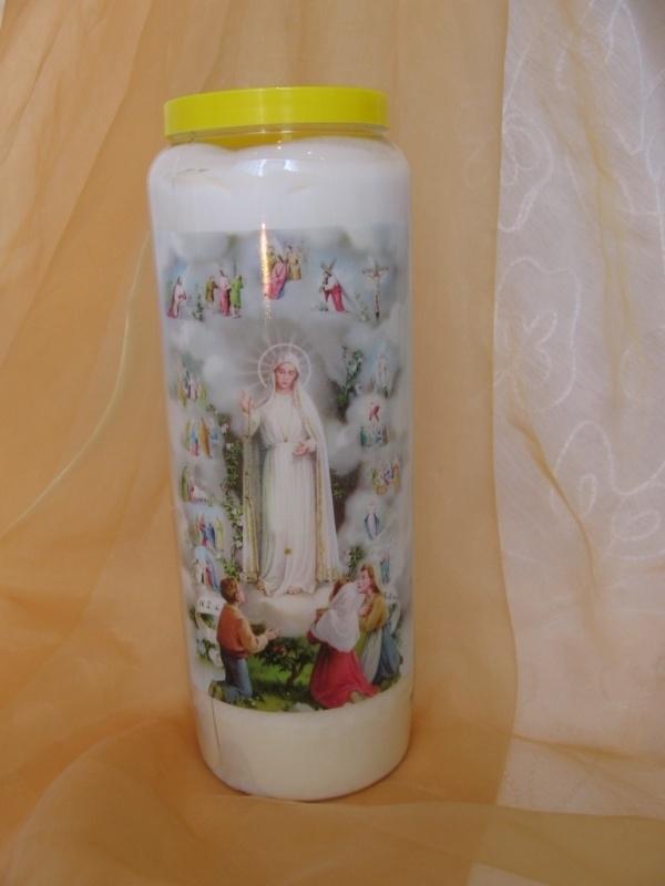 Noveenkaars O.L.V. van Fatima 9 dagen brander