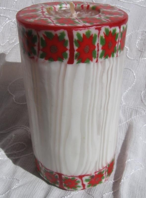 Kerstrooskaars XL Swazi Candle