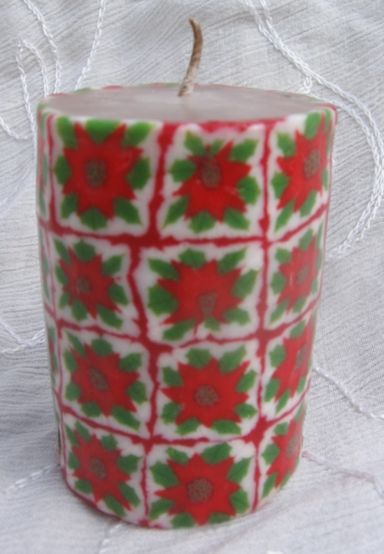Kerstroos klein S Swazi Candle