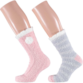 Art. 31033051 Ladies Softy Bedsocks 2-pack