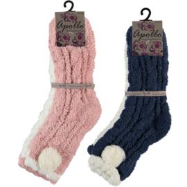 Art. 31033043 Ladies Softy Bedsocks 2-pack