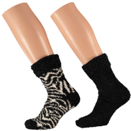 Art. 31033040 Ladies Softy Bedsocks 2-pack