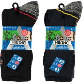 Art. 22433 Heren Hiking sokken 6-pack