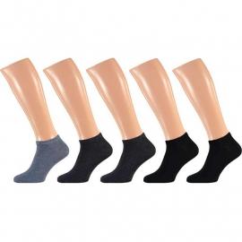 Art. 21490 Heren Sneaker sok Uni 5-pak