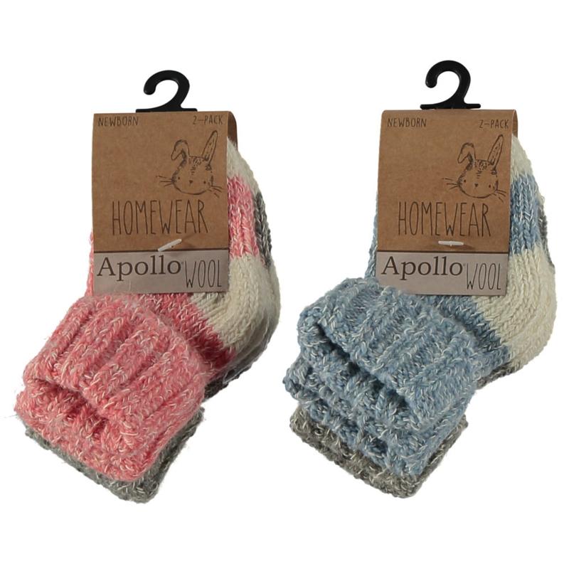 Art. 64355001 Baby wollen sokken