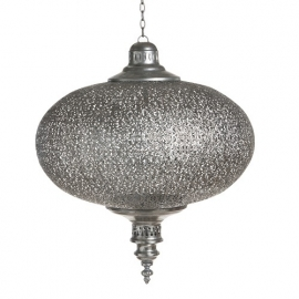 Lamp oriental zilver small