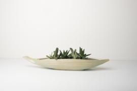 Object Serveerschaal - Palm Leaf