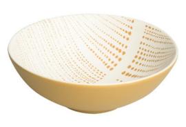 UNC schaaltje Ruka Stripes Saffran Ø16 x 5,5 cm