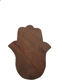 Houten snijplank hamsa 40x30