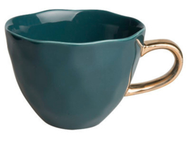 Good morning cup blue green