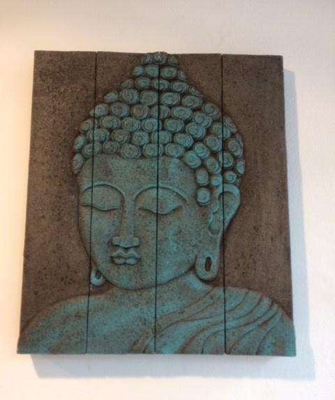 schilderij boeddha