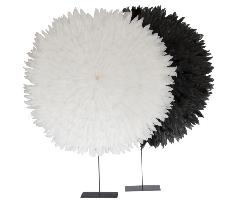 veren object  XXL zwart