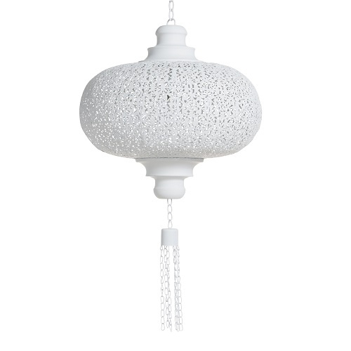 Lamp orientaals wit small