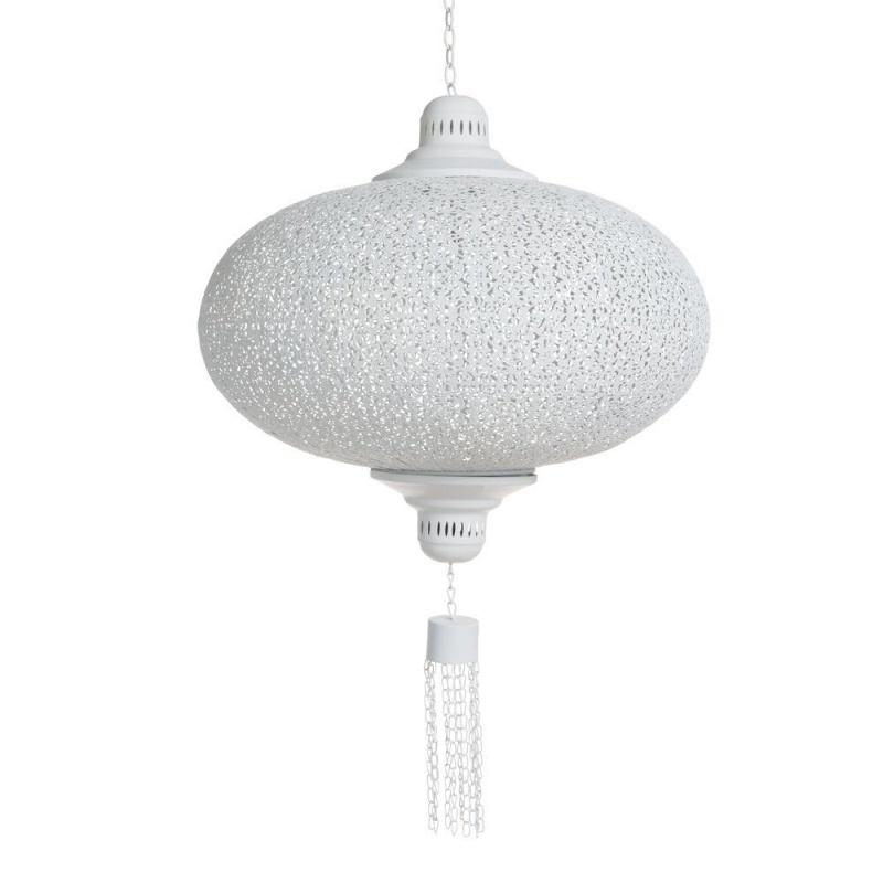 Lamp orientaals wit large