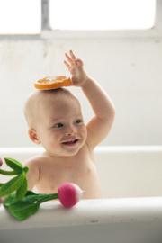 Badspeeltje / bijtspeeltje radijs