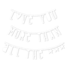 Letter banner wit