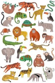 Tattoos jungle
