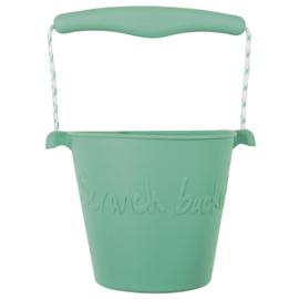 Scrunch Bucket duck egg green