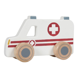 Hulpverleningsauto set van 3