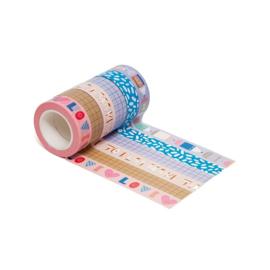Masking tape Make time to play (6x)