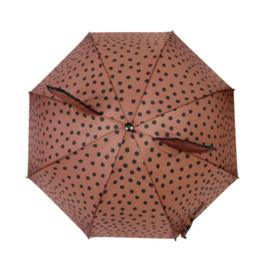Paraplu brown dots