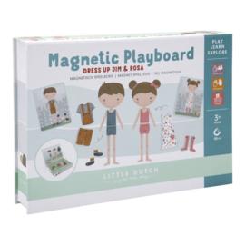 Magnetisch speelbord Jim & Rosa