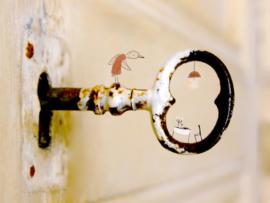 Verderkijker sleutelgat