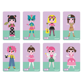 Magneetboek verkleedfeest meisjes