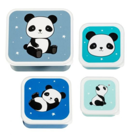 Lunch & snack box set panda