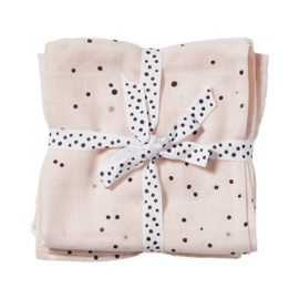 Swaddles dreamy dots white